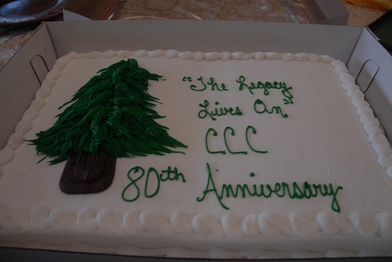 80th Anniversary Cake