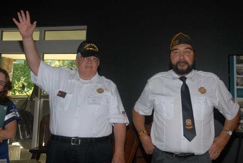 Hal Sharpe & Roy Barb, Post #2447 VFW Edinburg