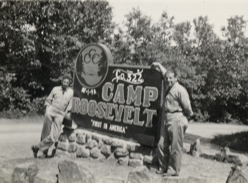 Co. 322, NF-1 VA - First Camp in the Nation