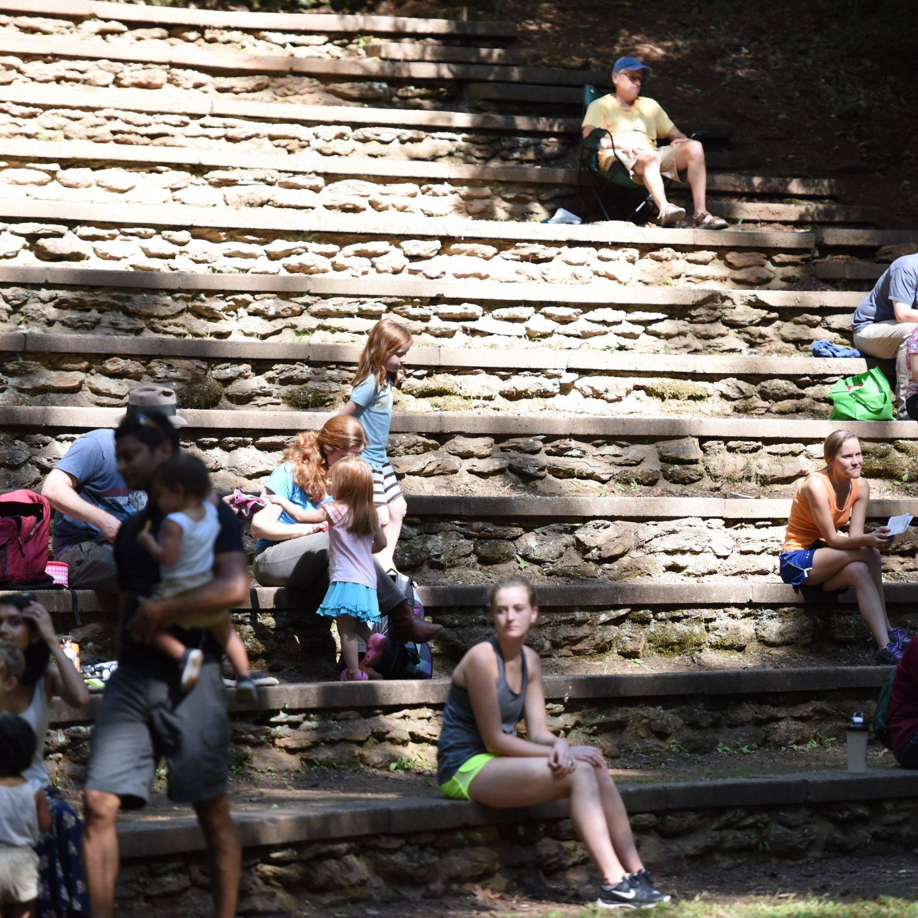Music in the Woods - CCC Built Amphitheater